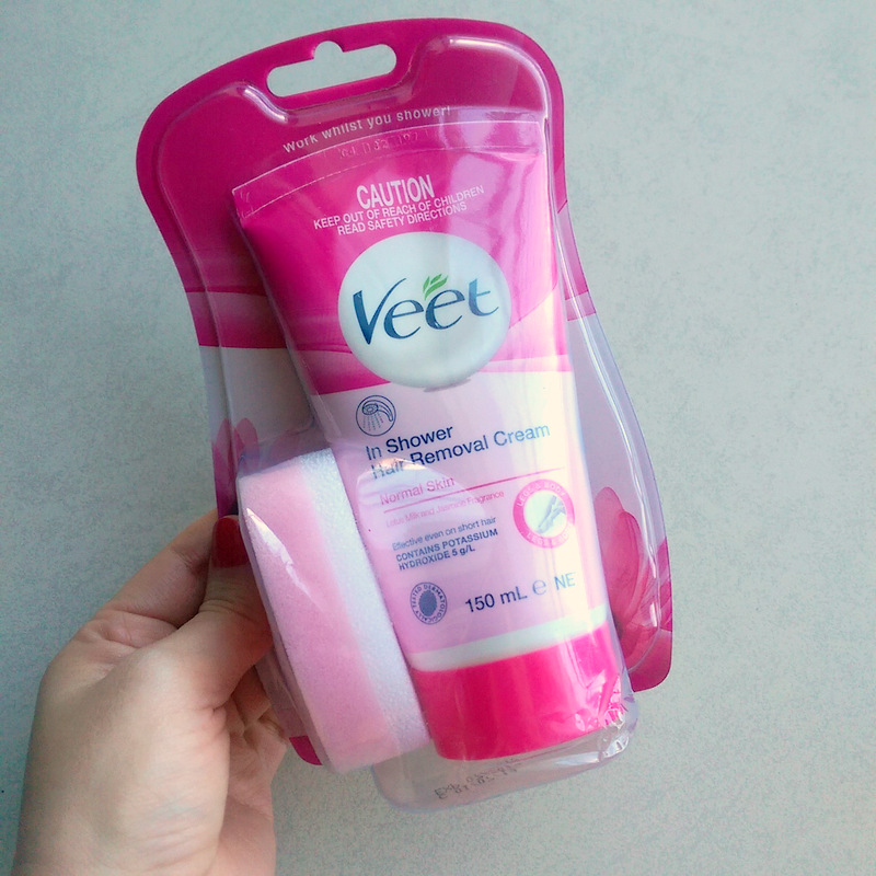 Review Veet Wax Strips Hair Removal Cream And In Shower Hair Removal Cream Lipgloss Is My Life