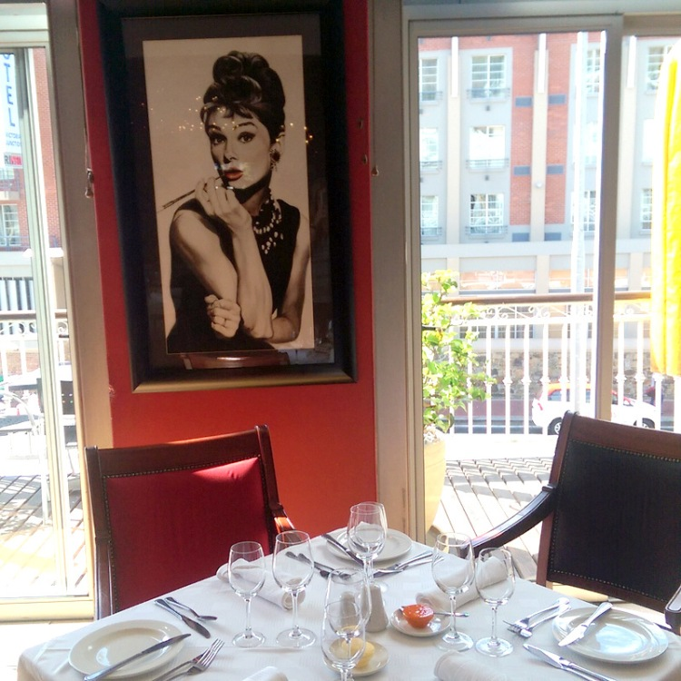 Oh hello Audrey! Fancy meeting you here...