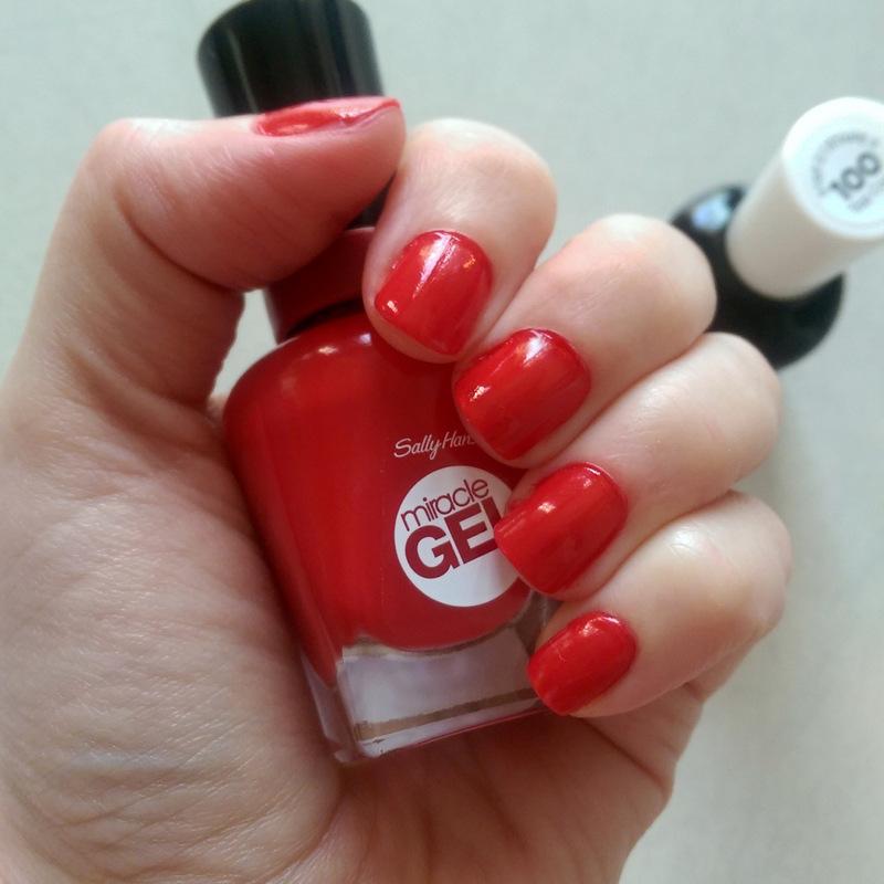 Review: Sally Hansen Miracle Gel nail polish – Lipgloss is my Life