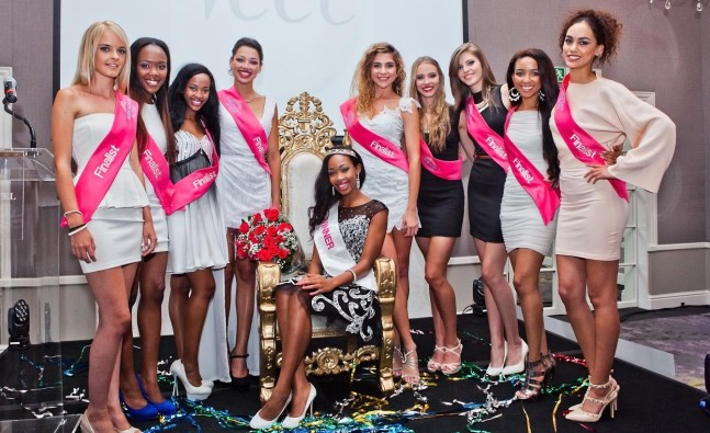 Odirile Sepeng has been crowned Miss Veet sa 2015.