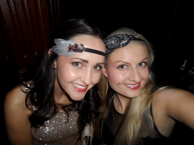 Karisa and I at the event back in 2013. Look how young we look!