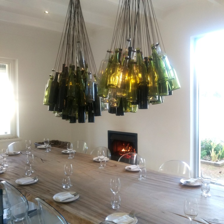 Clever chandelier.