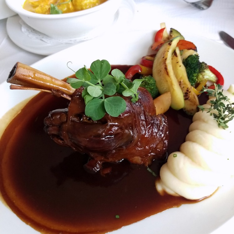 The lamb shank o' dreams