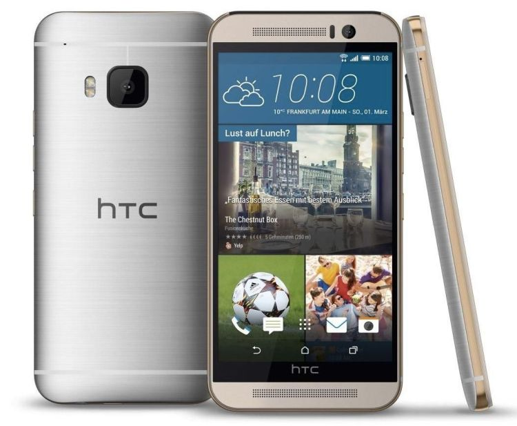 The all new htc The One m9