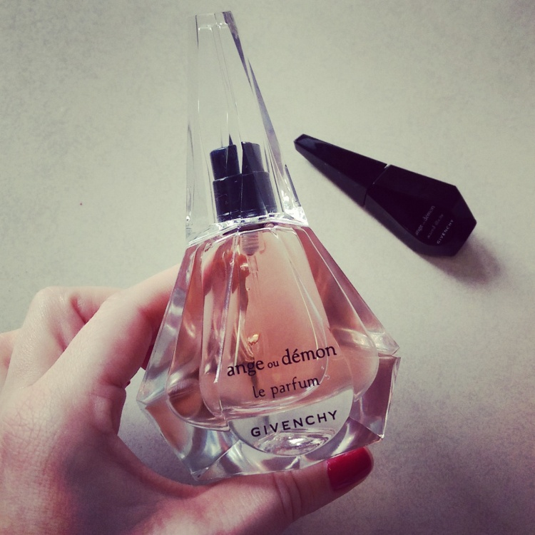 Givenchy Ange au Demon Le Parfum and Accord Illicite.