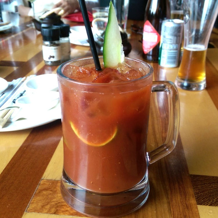 Just a barrel o' Bloody Mary for me, please!