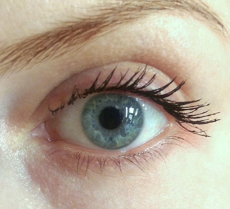 Two coats of Benefit Roller Lash mascara
