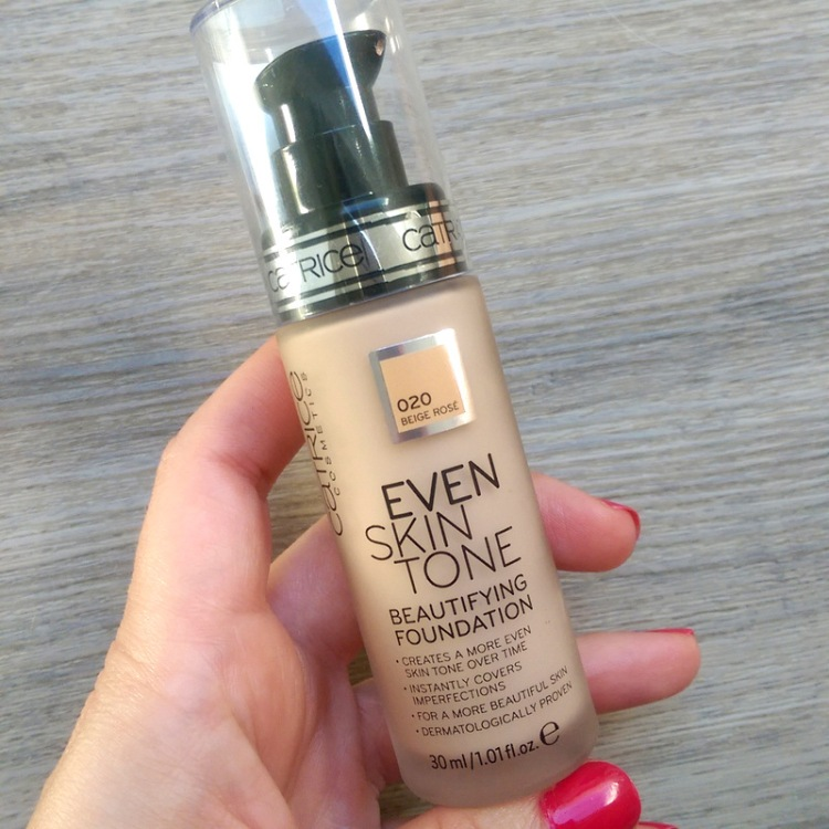 Catrice Even Skin Tone Beautifying Foundation in 020 Beige Rose, R132,95.