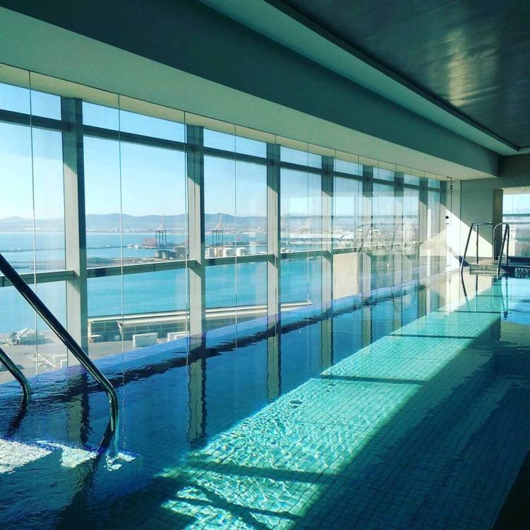 How gorgeous is Heavenly Spa's pool?