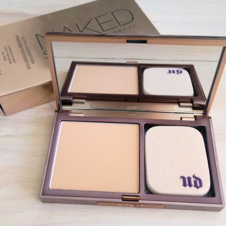Naked Skin Ultra Definition powder foundation, R550.