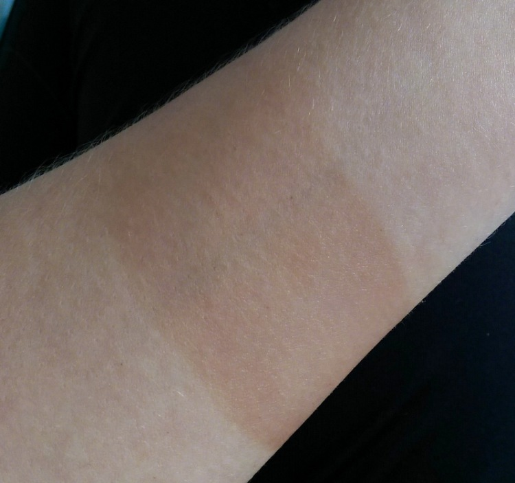 I always do a patch test before going big and Skinny Tan mousse passed with flying colours.