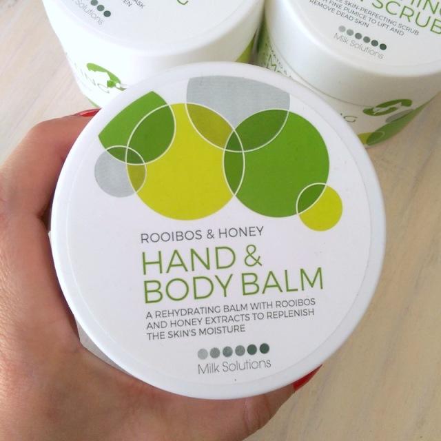 Milk Solutions Garden Rooibos & Honey Hand & Body Balm