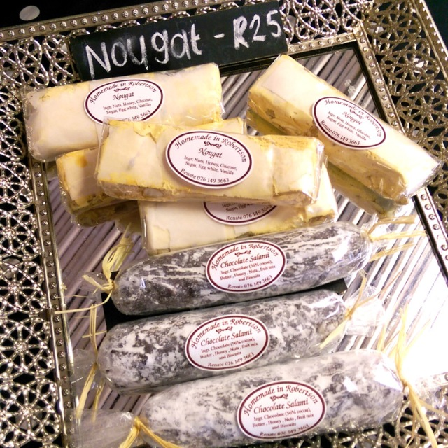 Chocolate salami and nougat for the win!