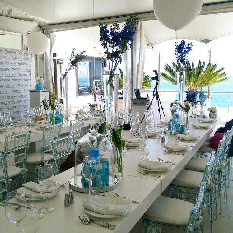 The launch was held at the 12 Apostles in Cape Town. How pretty was the set up?