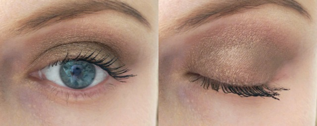 This is BLAH on the entire lid, BLAH on the brow bone and BLAH in the crease swept outwards.