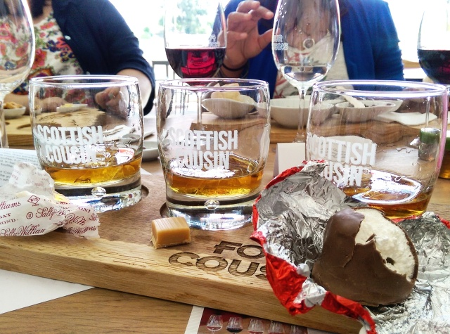 Nougat, caramel and a Sweetie Pie. That's my kind of whiskey tasting!