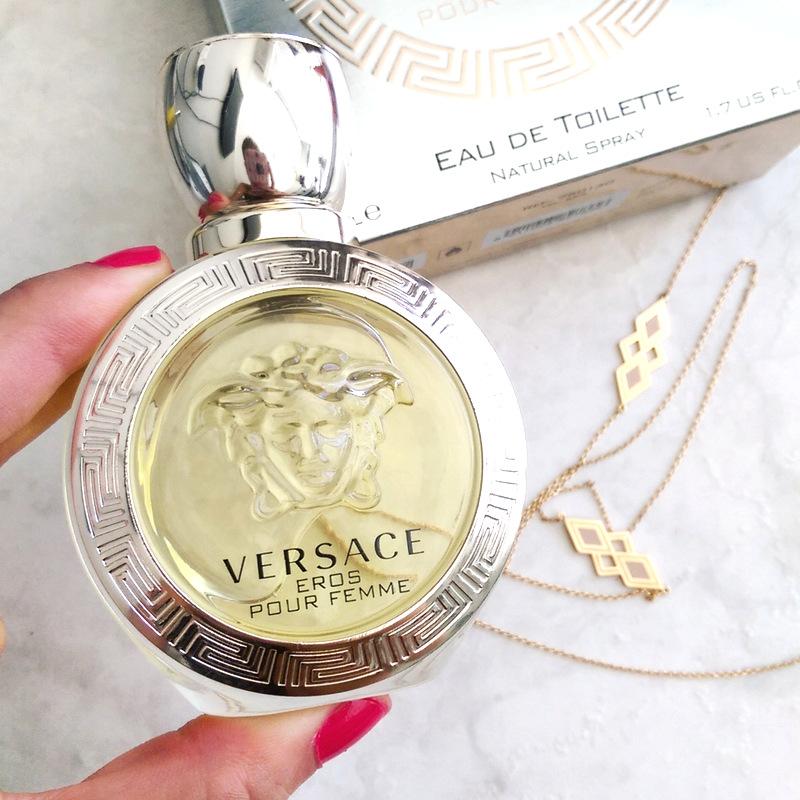 fragrance reviews versace eros pour femme edt eau de. Black Bedroom Furniture Sets. Home Design Ideas