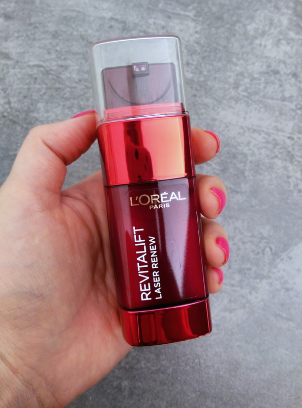 Props to L'Oreal for the airless packaging!