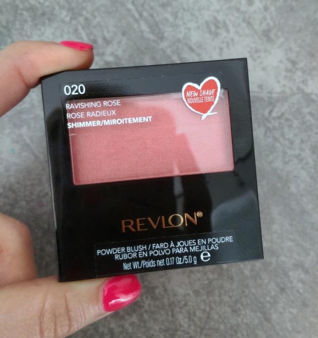 Revlon Powder Blush in Ravishing Rose.