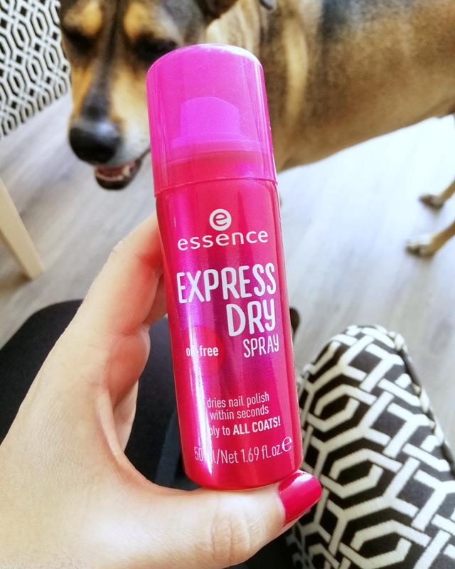 Reviews Essence Express Dry Spray Jennifer Aniston