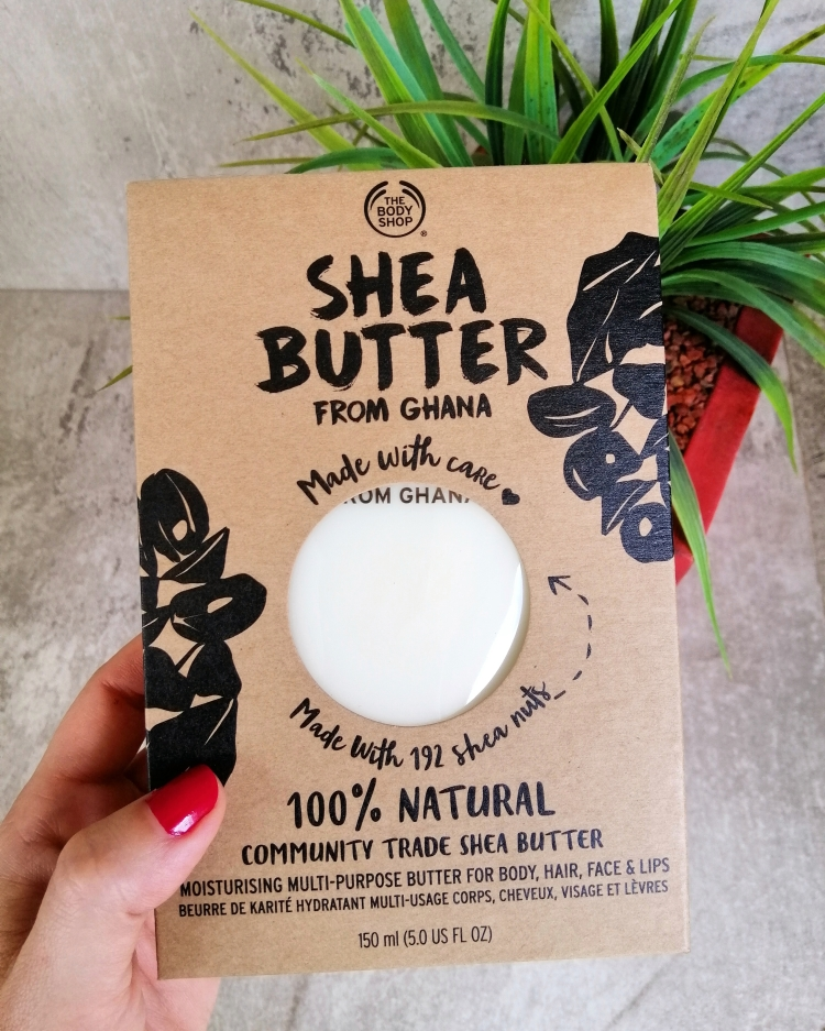 The Body Shop 100% Shea Butter from Ghana