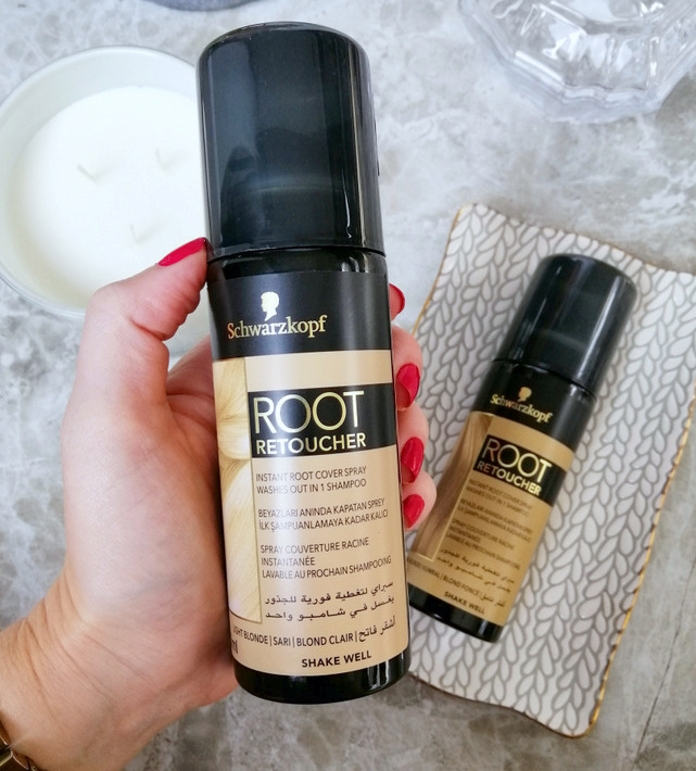 Schwarzkopf root retoucher blonde before and after review